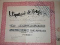 L'Equitable de Belgique