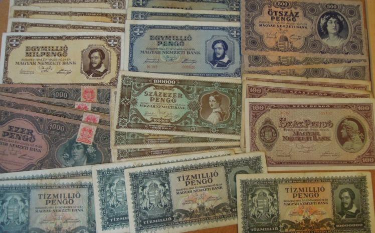 Régi magyar pénz pengő akció