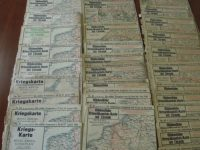 I. Világháború 1916 térkép