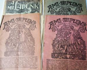 A mi lapunk diák és cserkészújság 1929-1930
