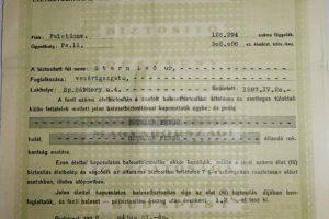 Az Anker Biztosító biztosítási kötvény 1938