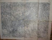 Gyöngyös Mátra  és Verpelét térkép 1925 régi