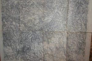 Gyöngyös Mátra és Verpelét térkép 1925