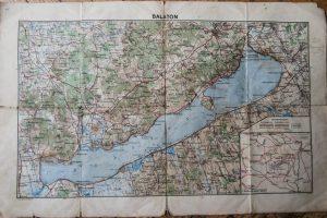 Régi Balaton térkép