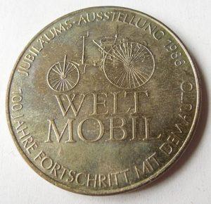 Weltmobil Mercedes Benz érme érem