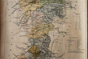 Temes Vármegye régi térkép