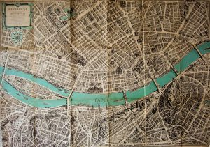 Budapest régi térkép 1963