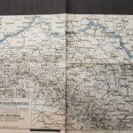 I. Világháború térkép Isonzó Munkács