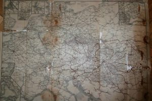 Közép Európa Vasúti Térkép 1930-as évek