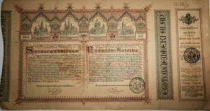 Sorsjegykölcsön Bazilika építés 1886