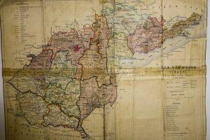 Zala Vármegye térkép 1928