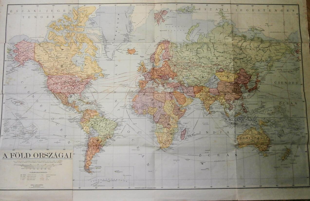 A Föld Országai Térkép 1942