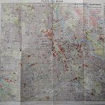 Ausztria Bécs térkép 1963