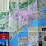 Balatonfüred Tihany térkép 2004
