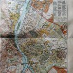 Budapest, régi térkép, 1900 as évek