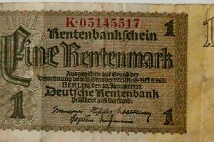 Eine Reitenmark 1937 Berlin