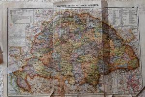 Magyarország Politikai Térkép 1900 as évek