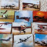 Repülő Malév  képeslap