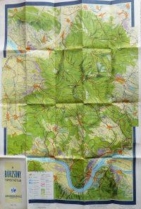 Börzsöny régi turista térkép 1956