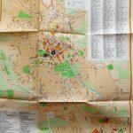 Eger város térkép 1957
