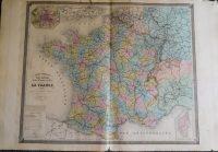 Franciaország térkép 1873
