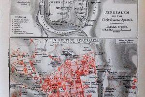 Jeruzsálem térkép 1894