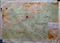 Magyarország légiforgalmi térkép 1974-75