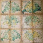 Magyarország régi térkép 1918 gazdaságok szerkezete