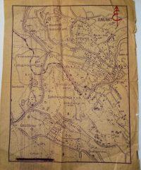 Széchenyi Hegy régi térkép 1950-60-as évek