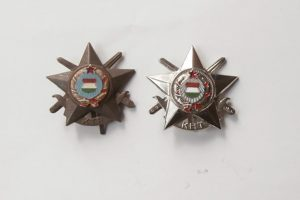 KTP és KHT kitüntetés érdemérem jelvény