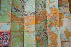 Miskolc térkép 1989