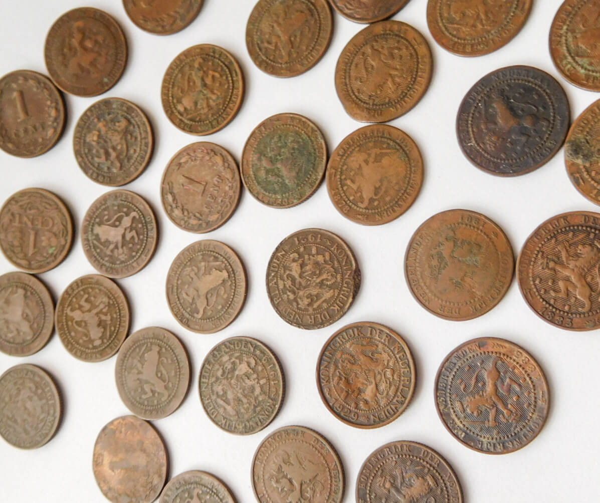1 cent Hollandia 1876-1929 90 Ft/db
