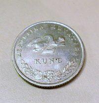 Kuna Horvátország fémpénz vétel
