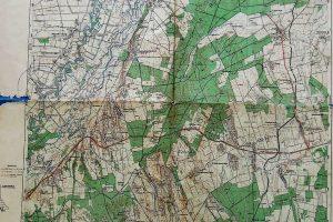 ikervár térkép Sárvár Ikervár Vasvár környéke régi térkép 1944 | | ÖREGPÉNZ