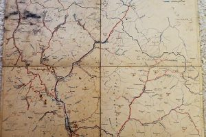 Ökörmező Majdánka Toronya Kárpátalja Ukrajna térkép cca 1905