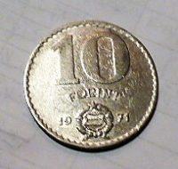 10 Forint 1971 érme