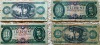 10 forint papírpénz 1962