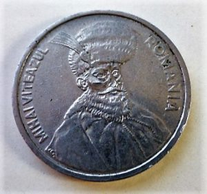 100 Lei 1991 fémpénz Románia