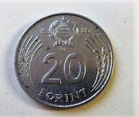 20 forint fémpénz 1999 Magyar Népköztársaság