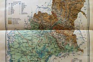 Bereg Vármegye Térkép 1893