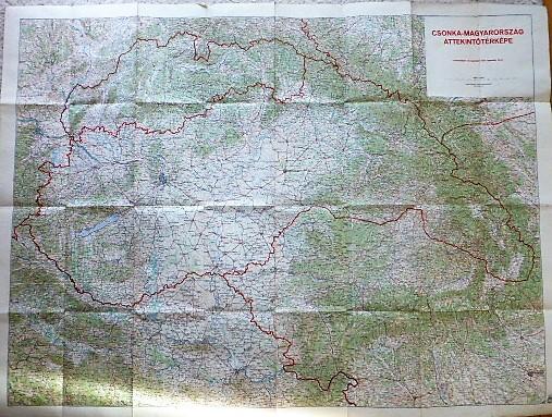 Csonka-Magyarország Áttekintő Térkép 1940