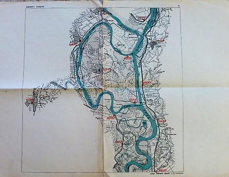 Dunamenti fixpontok Tolna Fajsz Bogyiszló Szegszárd térkép