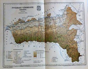 Fogaras Vármegye Térkép 1894