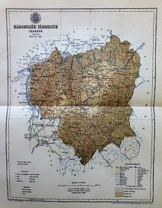 Háromszék Vármegye Térkép 1894
