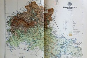 Heves Vármegye Térkép 1894