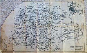 Nagy Magyarország vasúthálózat térkép