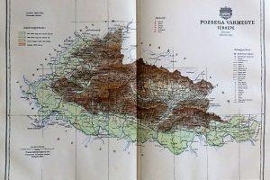 Pozsega Vármegye Térkép 1897