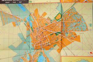Székesfehérvár régi térkép