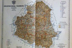 Szolnok Doboka Varmegye Terkep 1897 Oregpenz