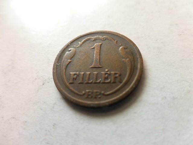 1 Fillér 1936 Magyar Királyság